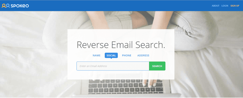 alt = '' Spokeo reverse email search ''